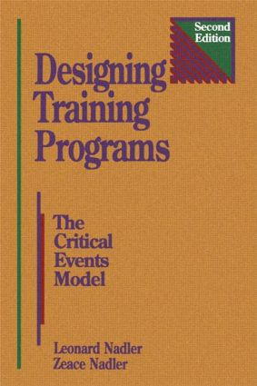 Designing Training Programs: 2nd Edition (Hardback) book cover
