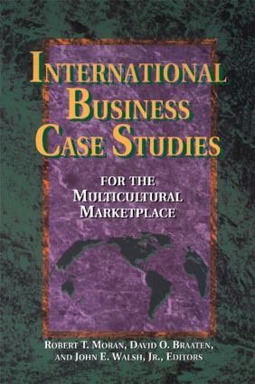 International Business Case Studies For the Multicultural Marketplace (Paperback) book cover