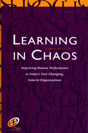 Learning in Chaos: 1st Edition (e-Book) book cover