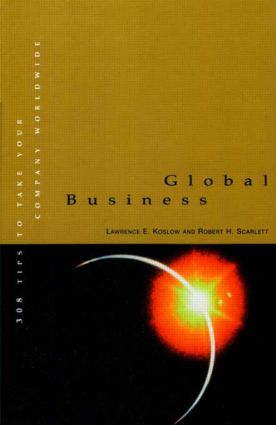 Global Business: 1st Edition (Hardback) book cover