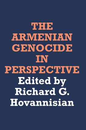 The Armenian Genocide in Perspective: 1st Edition (e-Book) book cover