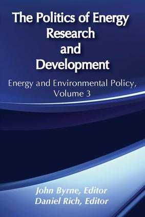 The Politics of Energy Research and Development book cover