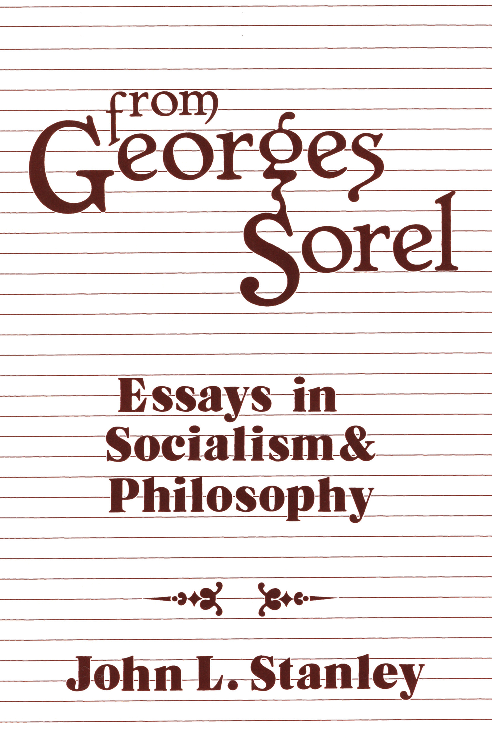 From Georges Sorel