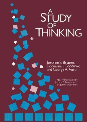 A Study of Thinking: 2nd Edition (Paperback) book cover