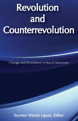 Revolution and Counterrevolution: Change and Persistence in Social Structures, 2nd Edition (e-Book) book cover