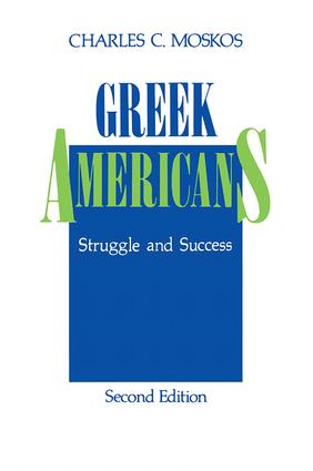 Greek Americans: Struggle and Success, 2nd Edition (Paperback) book cover