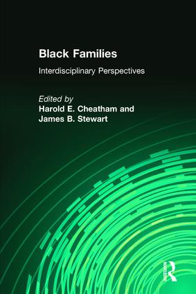 Black Families: Interdisciplinary Perspectives, 1st Edition (Paperback) book cover
