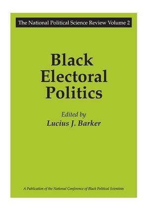 Black Electoral Politics: Participation, Performance, Promise, 1st Edition (Paperback) book cover