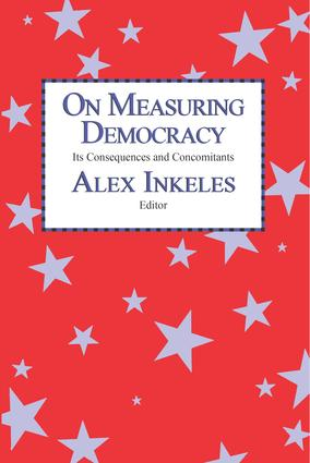 On Measuring Democracy: Its Consequences and Concomitants: Conference Papers, 1st Edition (Paperback) book cover