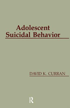 Adolescent Suicidal Behavior