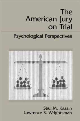 The American Jury On Trial: Psychological Perspectives (Paperback) book cover