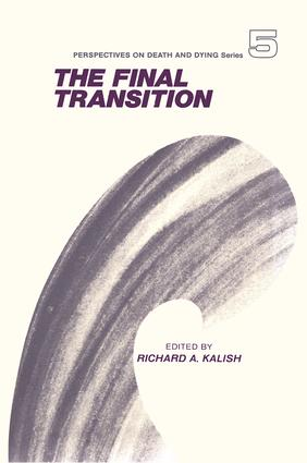 The Final Transition: 1st Edition (e-Book) book cover