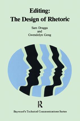 Editing: The Design of Rhetoric book cover