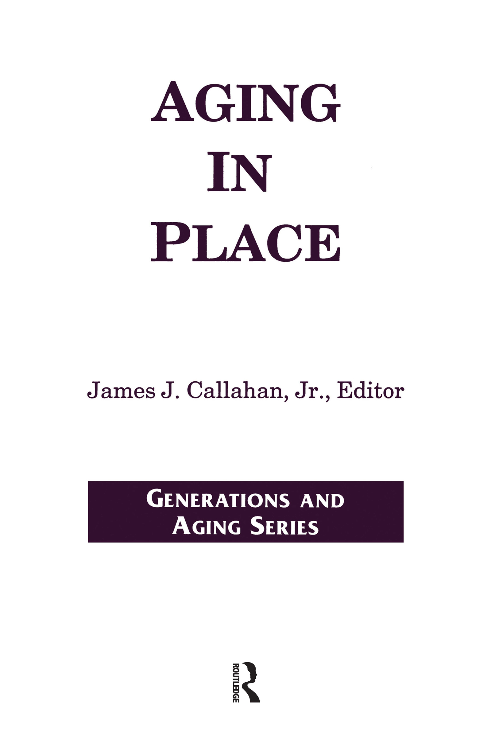 Aging in Place book cover