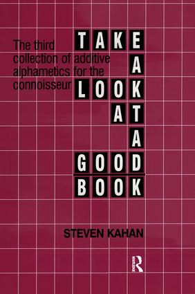 Take a Look at a Good Book: 1st Edition (Paperback) book cover