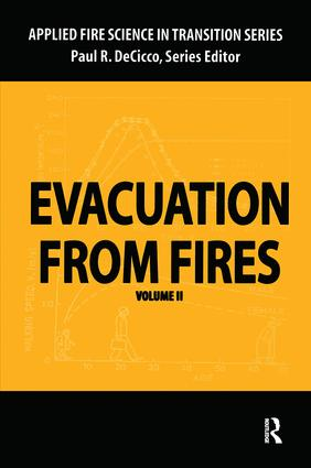 Evacuation from Fires: 1st Edition (Paperback) book cover