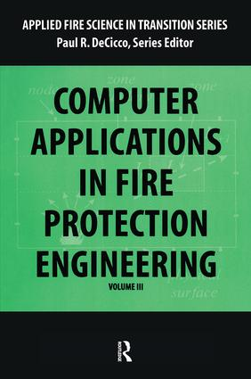 Computer Application in Fire Protection Engineering book cover