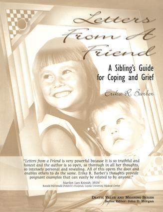 Letters from a Friend: A Sibling's Guide to Coping and Grief book cover