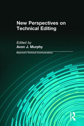 New Perspectives on Technical Editing: 1st Edition (Hardback) book cover