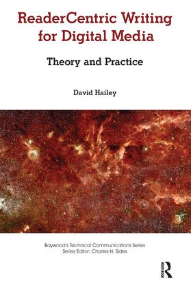 Readercentric Writing for Digital Media: Theory and Practice book cover