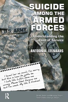 Suicide Among the Armed Forces: Understanding the Cost of Service, 1st Edition (Paperback) book cover
