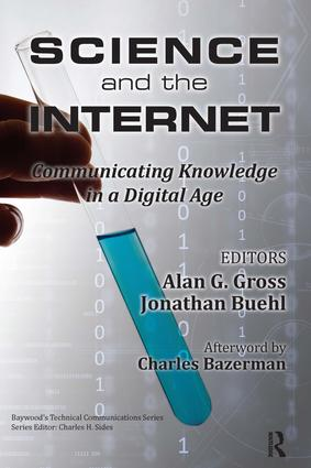 Science and the Internet: Communicating Knowledge in a Digital Age book cover
