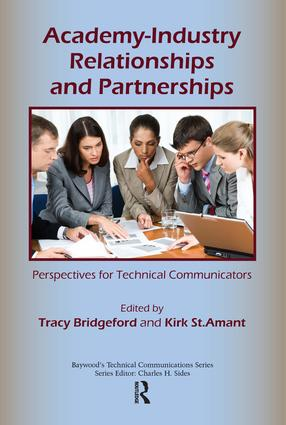 Academy-Industry Relationships and Partnerships: Perspectives for Technical Communicators book cover