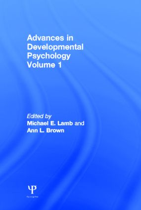 Advances in Developmental Psychology: Volume 1 (Hardback) book cover
