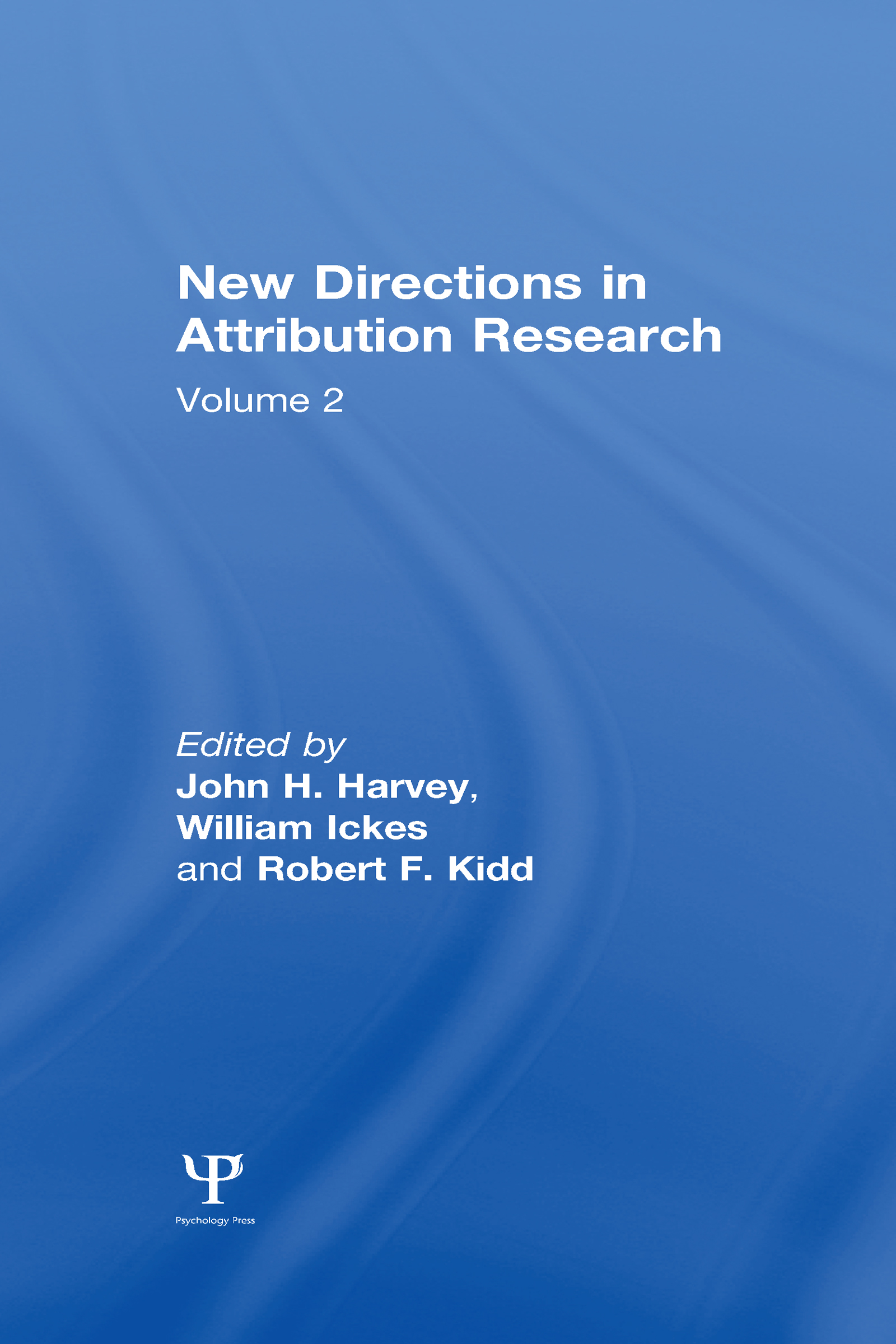 New Directions in Attribution Research: Volume 1 (Hardback) book cover