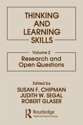 Thinking and Learning Skills: Volume 2: Research and Open Questions (Hardback) book cover