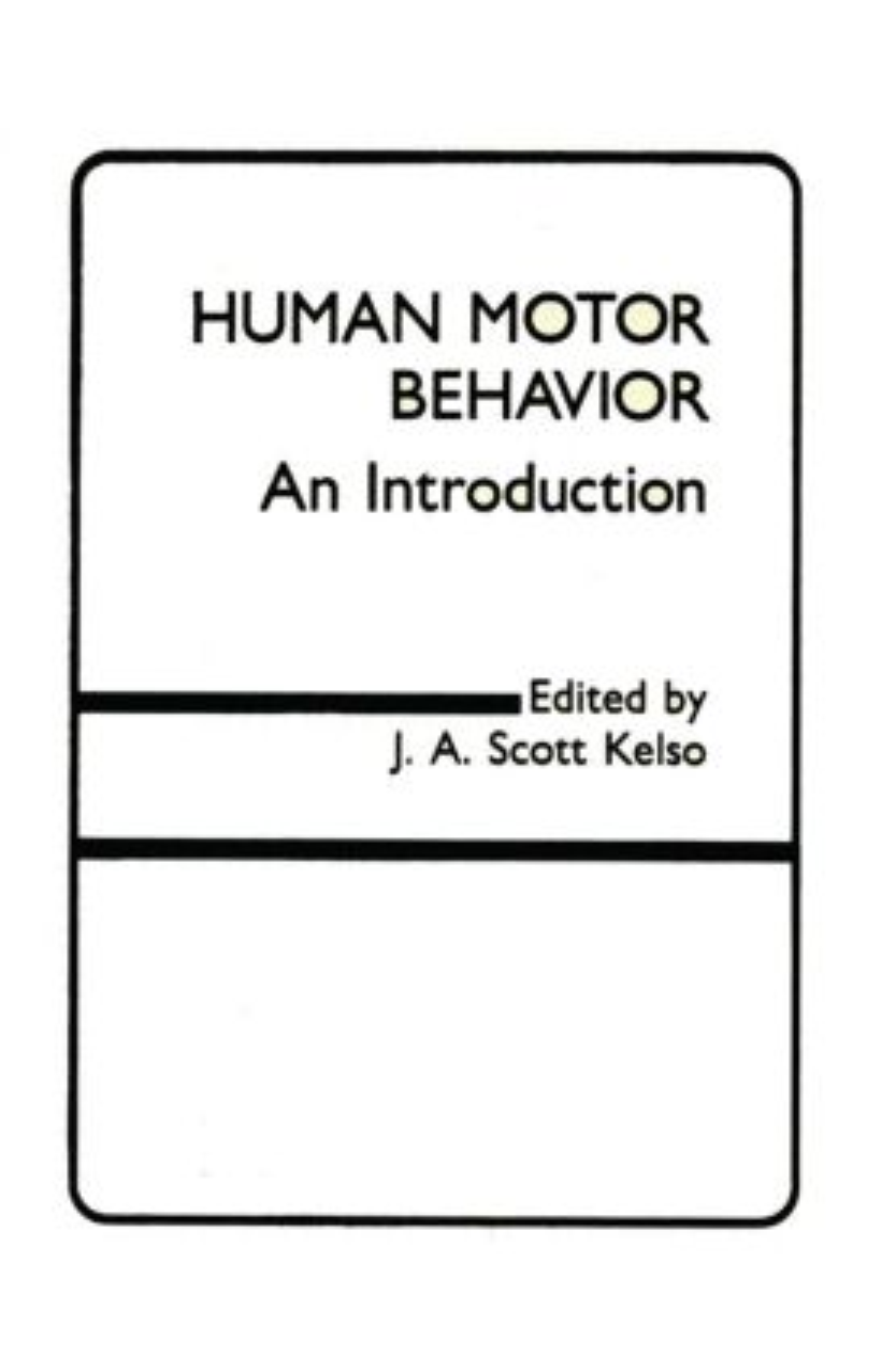 Human Motor Behavior: An Introduction (Hardback) book cover