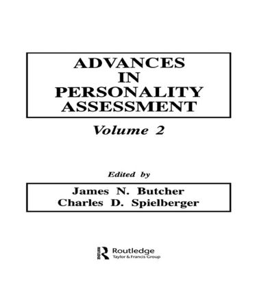 Advances in Personality Assessment: Volume 2 (Hardback) book cover