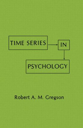 Time Series in Psychology (Hardback) book cover