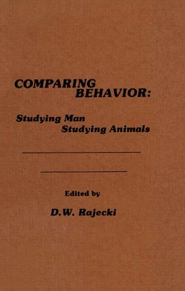 Comparing Behavior: Studying Man Studying Animals (Hardback) book cover