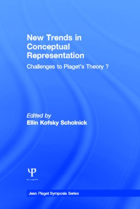 New Trends in Conceptual Representation: Challenges To Piaget's Theory, 1st Edition (Hardback) book cover