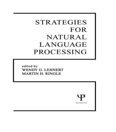 Strategies for Natural Language Processing (Hardback) book cover