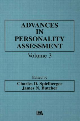 Advances in Personality Assessment: Volume 3 (e-Book) book cover