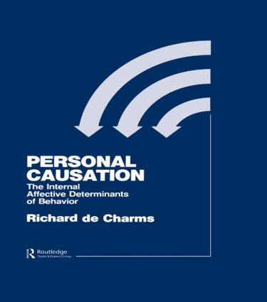 Personal Causation: The Internal Affective Determinants of Behavior (Hardback) book cover