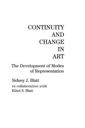 Continuity and Change in Art: The Development of Modes of Representation, 1st Edition (Hardback) book cover