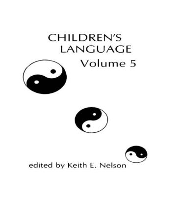 Children's Language: Volume 5 (Hardback) book cover