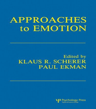 Approaches To Emotion (Paperback) book cover