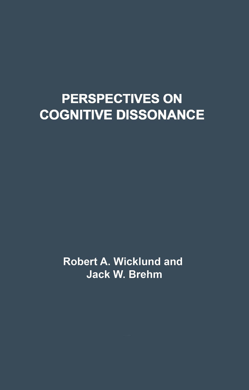 Perspectives on Cognitive Dissonance (Paperback) book cover