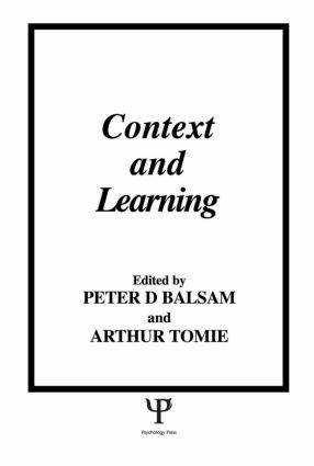 Context and Learning: 1st Edition (Hardback) book cover