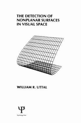 The Detection of Nonplanar Surfaces in Visual Space (Hardback) book cover