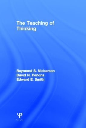 The Teaching of Thinking (Hardback) book cover