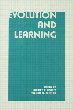 Evolution and Learning: 1st Edition (Hardback) book cover