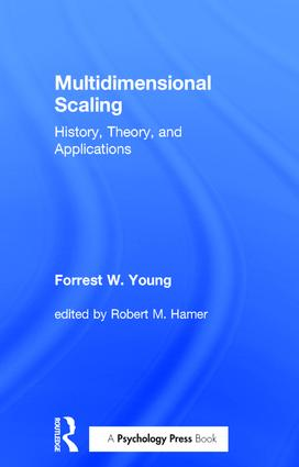 Multidimensional Scaling: History, Theory, and Applications (Paperback) book cover