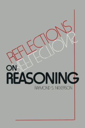 Reflections on Reasoning: 1st Edition (Paperback) book cover