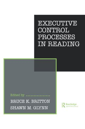 Executive Control Processes in Reading (Paperback) book cover