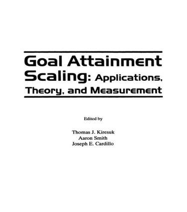 Applications of Goal Attainment Scaling